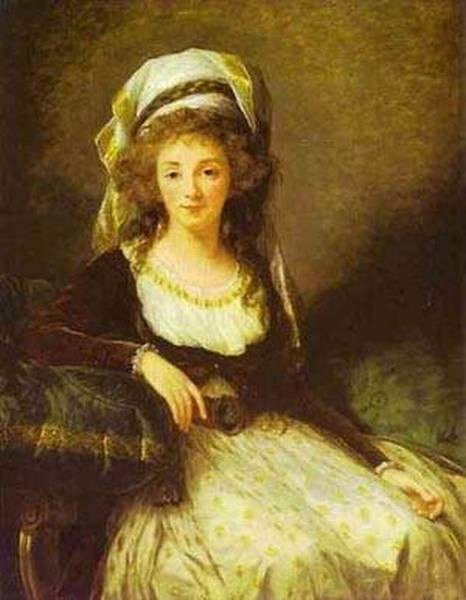 Portrait of a lady 1789 xx the national gallery of art washington usa